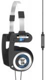 Sluchátka Koss Porta Pro Microphone - černá
