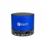 Přenosný reproduktor C-TECH SPK-04L, modrý