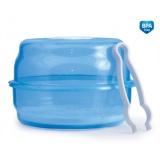 Sterilizátor Canpol babies do mikrovlnné trouby - modrý
