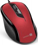 Myš Connect IT CMO-1200 / optická / 3 tlačítka / 1000dpi - červená