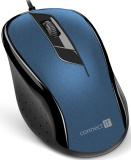 Myš Connect IT CMO-1200 / optická / 3 tlačítka / 1000dpi - modrá