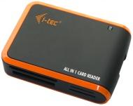 Čtečka paměťových karet i-tec All in One USB 2.0 - černá