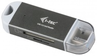 Čtečka paměťových karet i-tec USB 3.0 Dual Card Reader