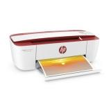 Tiskárna multifunkční HP DeskJet Ink Advantage 3788 A4, 8str./min, 5str./min, 1200 x 1200, 64 MB, manuální duplex, WF, USB - bílá/červená