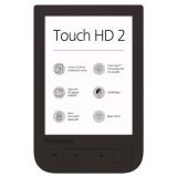 Čtečka e-knih Pocket Book 631+ Touch HD 2 - hnědá