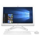 """Počítač All In One HP AiO 24-e001nc 23,8"""",i3-7100U, 4GB, 1TB, DVD±R/RW, HD 630, W10 - bílý"""