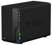 Datové uložiště (NAS) Synology DS218+ 2xHDD, CPU 2GHz, 2GB, 1xGb/s, 3xUSB 3.0