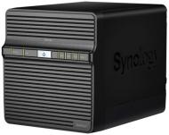 Datové uložiště (NAS) Synology DS418j 4xHDD, CPU 1,4GHz, 1GB, 1xGb/s, 1xUSB 3.0