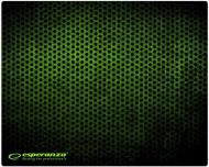 Podložka pod myš Esperanza EGP101G Gaming Classic Mini (250 x 200 mm) - zelená