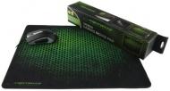 Podložka pod myš Esperanza EA146G Gaming (440 x 354 mm) - černá/zelená