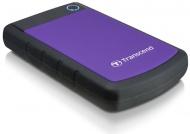"""HDD ext. 2,5"""" Transcend StoreJet 25H3P 3TB - černý/fialový"""