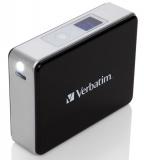 Powerbank Verbatim 5200mAh - černá/hliník