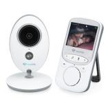 Dětská elektronická chůva TrueLife NannyCam V24, digitální video - bílá