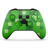 Gamepad Microsoft Xbox One S Wireless - Minecraft Creeper
