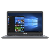"Ntb Asus VivoBook 17 X705UA-BX022T i3-7100U, 4GB, 1TB, 17.3"", HD+, bez mechaniky, Intel HD 620, BT, CAM, W10 Home  - šedý"