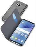 Pouzdro na mobil flipové Cellularline na Samsung Galaxy S8 - černý