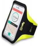 Pouzdro na mobil sportovní Celly Armband XXL - žluté