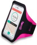 Pouzdro na mobil sportovní Celly Armband XXL - růžové