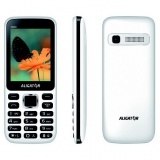 Mobilní telefon Aligator D930 Dual SIM - černý/bílý
