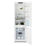 Chladnička komb. Electrolux ENN2854COW NoFrost, vestavná