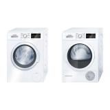 Set Bosch - pračka WAT24460BY + sušička WTW85460BY