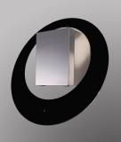 Odsavač par Guzzanti GZ 80 Circolo nerez/sklo