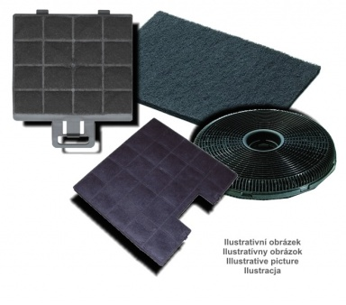 Filtr uhlíkový Gorenje UF 198061 k odsavači DU 6146 E,W