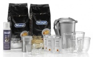 Balíček DeLonghi DeLuxe pack káva + příslušenství