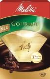 Filtr do kávovarů Melitta 1x4/80 GOURMET-hnědá