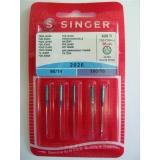 Příslušenství - jehly Singer BLISTER 826 - 2026/90,100 JEANS 5 ks