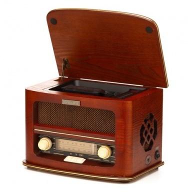 Radiopřijímač s CD Hyundai RC606 RETRO, třešeň