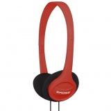 Sluchátka Koss Featherweight KPH/7 (doživotní záruka) - červená